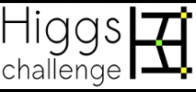 Le Higgs boson machine learning challenge