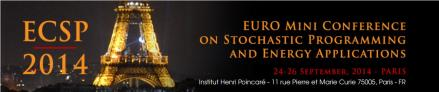 European Conference on Stochastic Optimization and Energy Applications