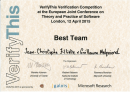 VerifyThis@ETAPS2015 Verification Competition: 2 awards!