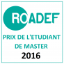 ROADEF master student prize