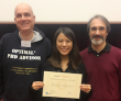 Wanyu Liu is awarded the STIC Graduate School Ph.D. Student Award